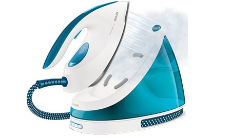 Compact steam generator iron