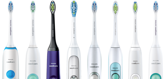 Philips Sonicare Electric Toothbrush Range