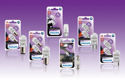 Philips Vision LED - Bulbs and packaging
