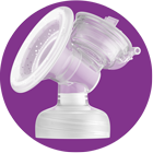 Philips Avent Electric Breast pump feature: One size soft & adaptive cushion