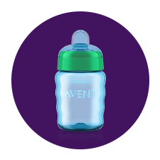 Philips Avent sippy cups are easy to hold