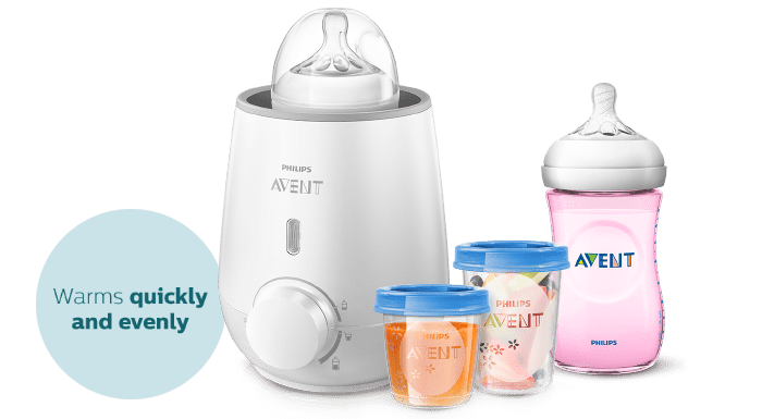 Philips Avent Fast Baby Bottle Warmer Bottles and Container