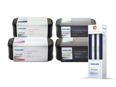 Philips Zoom! DayWhite and NiteWhite Teeth Whitening Kits