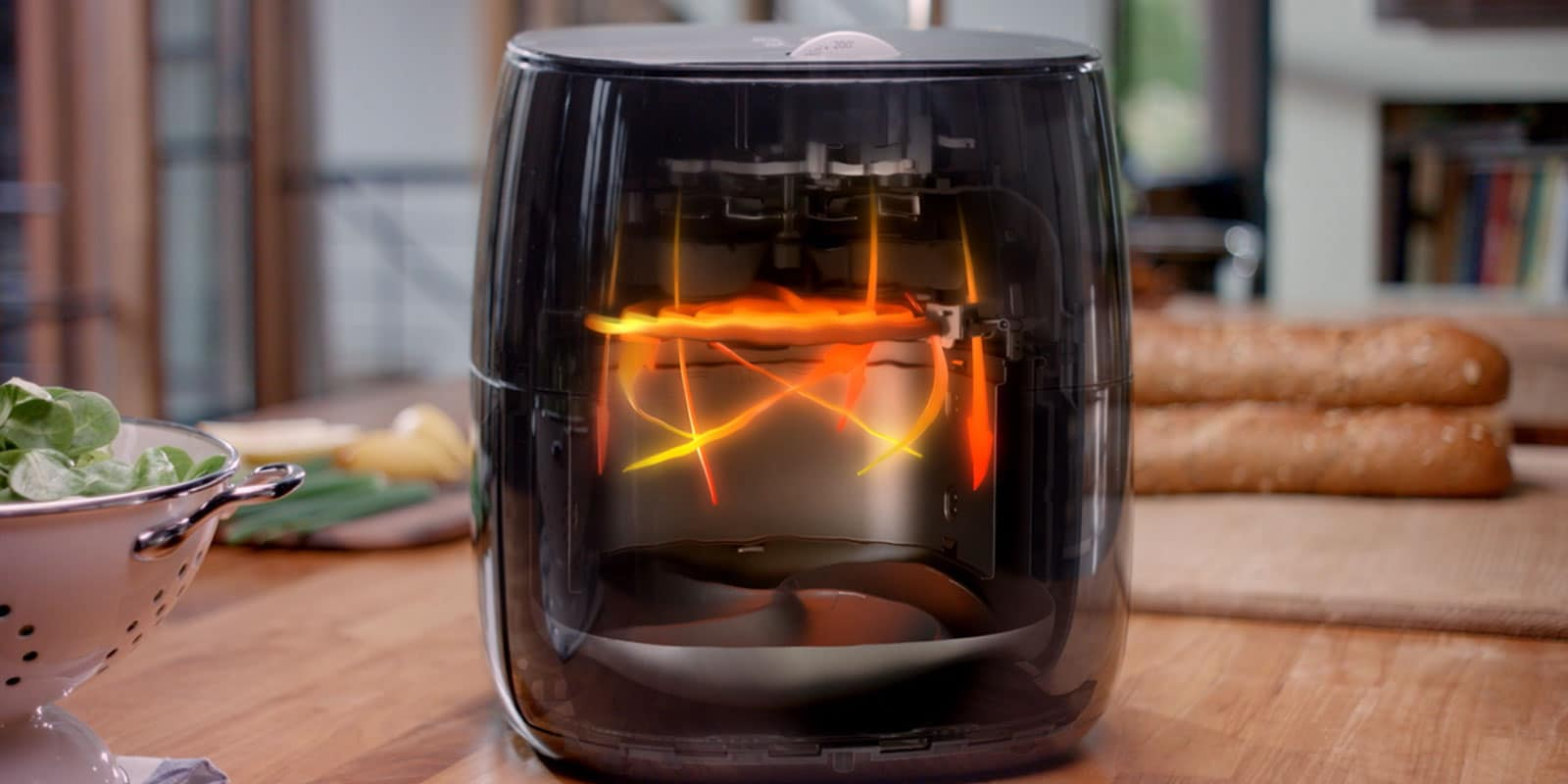 Airfryer Turbostar Technology