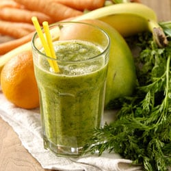 Green salad smoothie