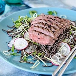 Beef and Soba Noodle Salad