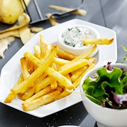 Homemade fries | Philips Chef Recipes