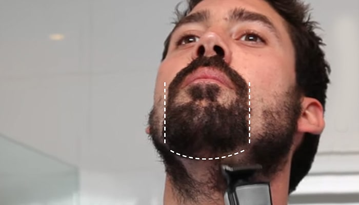 Video Guide on How to shave a goatee beard