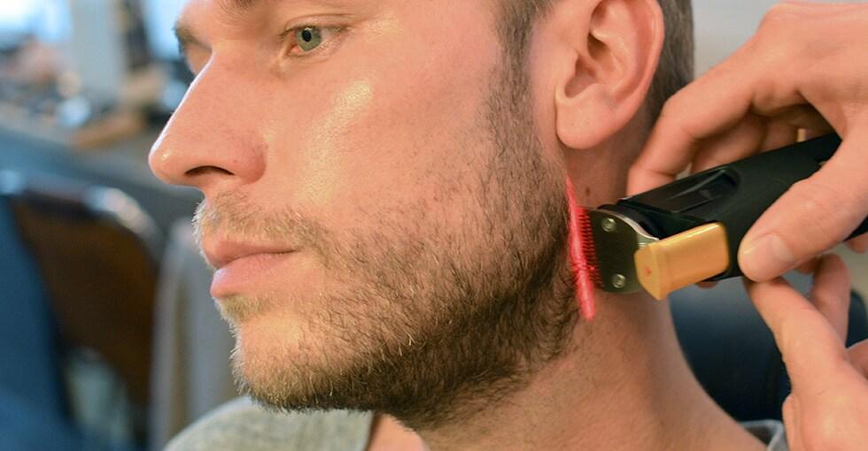 Beard Neckline Trimmed In 5 Steps Philips