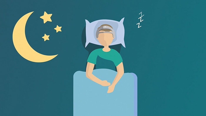 Sleep study video