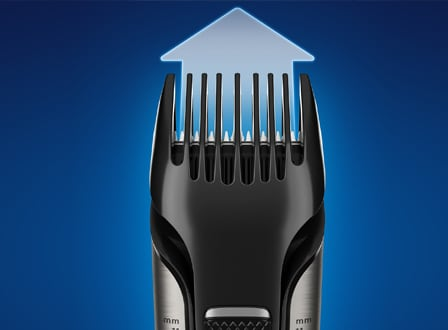 Adjustable comb on Philips Body Hair Trimmer