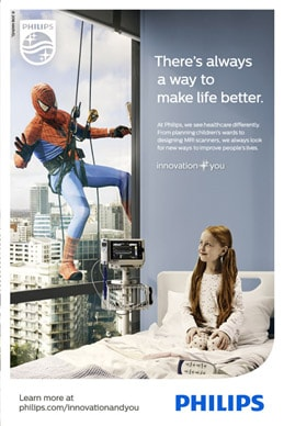 Philips Spider-man Campaign
